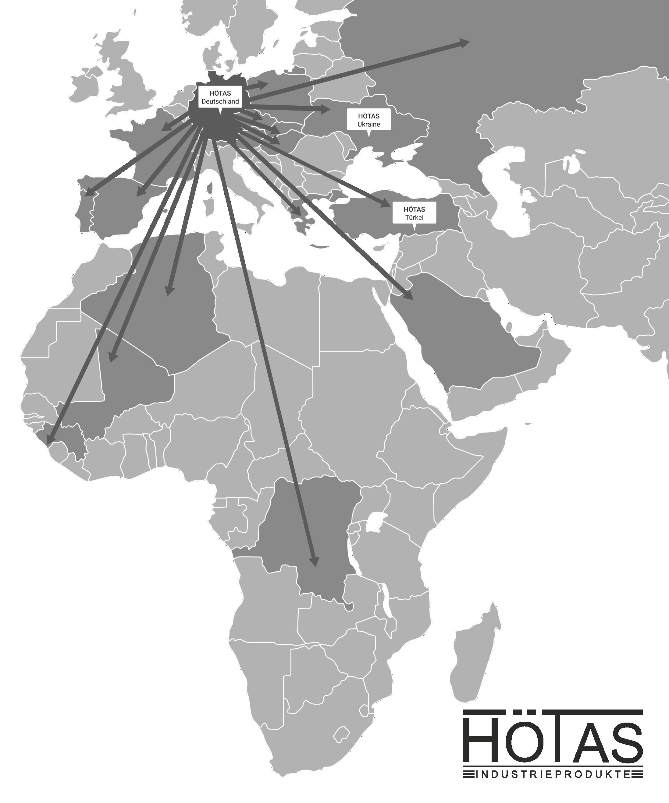 HÖTAS Map